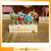 La lettre de véhicule de bougie du dessin animé des enfants créateurs monte en ballon des bougies de gâteau d'anniversaire de fête d'anniversaire de bougies