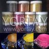 明るく良く鮮やかなカラーインク真珠の顔料の粉を白くしなさい
