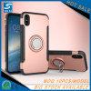 para o iPhone X, caixa Shockproof do telefone da armadura do suporte do anel da venda quente