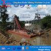 良質のバケツの鎖の高性能の沖積金の浚渫船