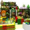 Patio del parque del estilo del bosque para los niños