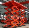 De elektrische Hydraulische het Opheffen van de Lading van het Pakhuis van de Lift van de Vracht van Goederen Materiële Prijs van het Platform