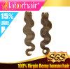 싼 5A 브라질 Virgin Hair Extension 100%년 Human Hair Weave Lbh 050