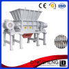 Capacity grande Double Shaft Shredder Machine para Sale