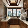 良質の統合された木製の食器棚