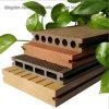 Composé en plastique en bois de Decking extérieur de WPC pour l'horizontal