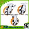 AluminiumCenter PU Caster für Handing Equipment