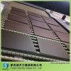 Vidrio de seda de la impresión de la pantalla con el color marrón