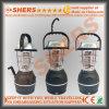 1W懐中電燈が付いている再充電可能な太陽LEDライト、ダイナモ、USB (SH-1992A)