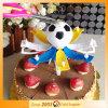 Candela della festa di compleanno di musica di calcio