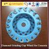 Diamante Grinding Cup Wheel para Concrete
