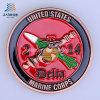 Монетка возможности металла США мягкой эмали таможни 40mm морская для подарка сувенира