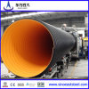 PE reforzado de acero de gran diámetro tubo corrugado para Agua