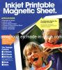 Le papier d'imprimerie magnétique couvre la taille A4