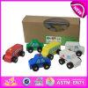 Carro de brinquedo de madeira colorido para crianças, artesanato de brinquedos para crianças, brinquedo de brinquedo, brinquedo de brinquedo mini brinquedo de madeira para bebê W04A083