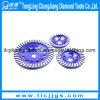Meule de cuvette de diamant de rangée de double de haute performance