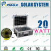 20W PV Suitcase postage Solar home Lighting system (PETC-FDXT-20W)