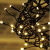 Manufatura solar da luz de Natal do diodo emissor de luz da forma feita em China