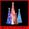 De LEIDENE van de Slinger van pvc van de Decoratie van de fabriek Kerstboom van het Motief
