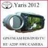 Sistema de multimedias del coche para Toyota Yaris 2012 (K-918)