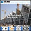 Estructura de acero del edificio grande para el acceso