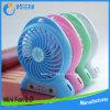 Оптовая торговля наилучшим подарком аккумулятор мини-электрический вентилятор портативных USB-стороны электровентилятора системы охлаждения двигателя