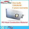 diodo emissor de luz da ESPIGA 150W com luz de rua material da condução de calor do PCI