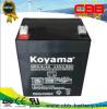batterie rechargeable d'acide de plomb Np4.5-12 d'UPS scellée par 12V4.5ah