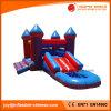 膨脹可能なおもちゃの膨脹可能な跳躍の弾力がある城の警備員(T2308)