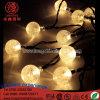 LED 10mの屋外のクリスマスの装飾の球ストリングライト