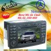 벤즈 Ml Class/Gl Class/Ml 350/Ml450/Gl350/Gl450를 위한 특별한 차 DVD