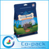 Casella Bottom Plastic Resealable Bag con Hanger Hole