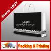 Bolsa de papel de empaquetado modificada para requisitos particulares del regalo monocromático de la impresión del diseño (5119)