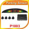 Jogo alternativo de estacionamento do radar do reverso da parte traseira do carro do diodo emissor de luz de 4 sensores