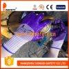 Ddsafety 2017 13 beschichtende Handschuhe des Anzeigeinstrumentzebra-purpurrotes gemischtes weißes Nylonzwischenlage-purpurrotes Nitril-3/4