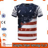 Polyester-Sublimation-Drucken-kundenspezifisches 3D T-Shirt 100%
