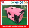 generatore diesel 5kw con il tipo silenzioso eccellente SD8000es di approvazione di Soncap del Ce