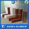 Profilo di alluminio di alluminio dell'espulsione del grano di legno per la finestra & il portello