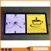 Caixa de luz de cristal de estilo novo de alta qualidade com relógio