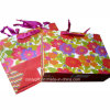 Spot GlitterおよびRibbon HandleのカスタマイズされたPrinting Cardboard Paper Bags