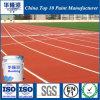 PU Hualong Pintura de suelo elástico para Estadio/área de juegos