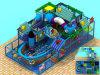 Campo de jogos interno do parque temático do oceano, jogo interno do campo de jogos dos miúdos