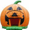 Halloweenの膨脹可能なカボチャ家の警備員