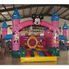 Mickey Schloss-kleines aufblasbares springendes Spielzeug