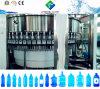 Terminar la cadena de producción de relleno del agua no gasificada