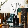 Diffusore della canna dell'olio essenziale dell'aroma di fragranza con i bastoni del rattan in contenitore di regalo per la decorazione domestica