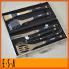 BBQ Set 2015 профессионалов в Aluminum Case, BBQ Tool Set Aluminum с 5 PCS, BBQ Tool Set Promotion Gift Cheap для сада T39A002