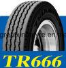 Pneumático 11r22.5 12r22.5 315/80r22.5 do caminhão do pneumático do triângulo