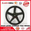 道の自転車のための完全なカーボンファイバーの自転車5のスポークの車輪
