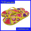 PE solido Slippers di Color Sole con Loving Printing per Lady